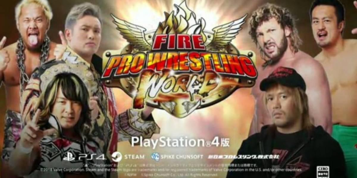 Fire Pro Wrestling World ya tiene ventana de lanzamiento en PS4
