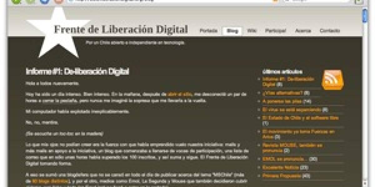 Se hace realidad el movimiento Liberación Digital [Actualizado]