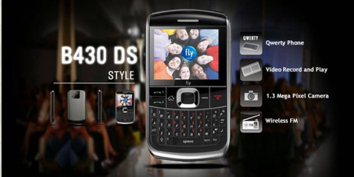 Fly Circle: La nueva BlackBerry Bold de Fly