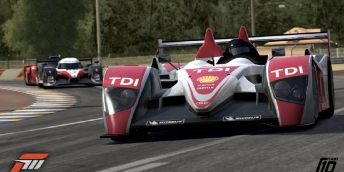 Le Mans en Forza Motorsport 3