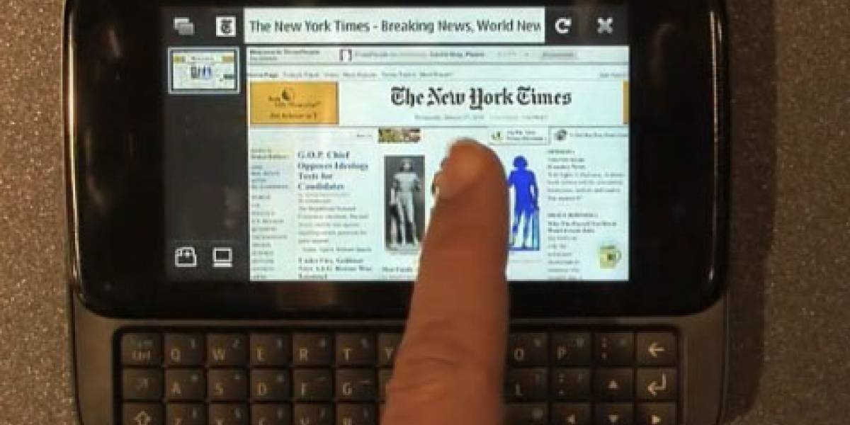 Video: Firefox Mobile en el Nokia N900