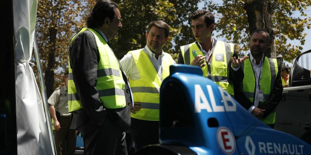 Inaugurados los pits del ePrix de Santiago