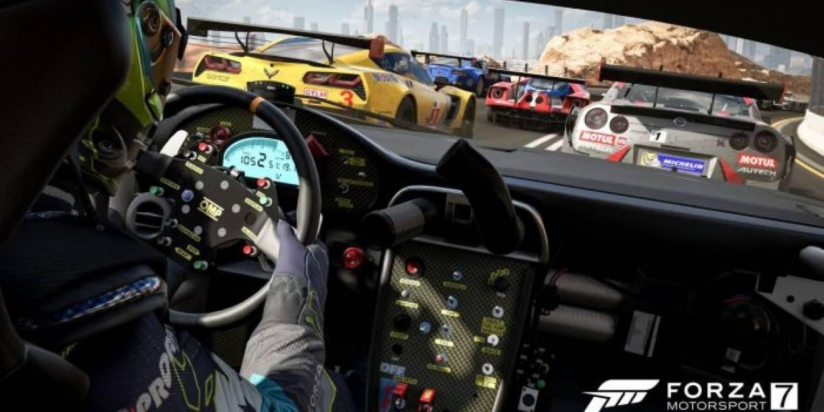 Forza Motorsport 7 ocupará 100GB de almacenamiento