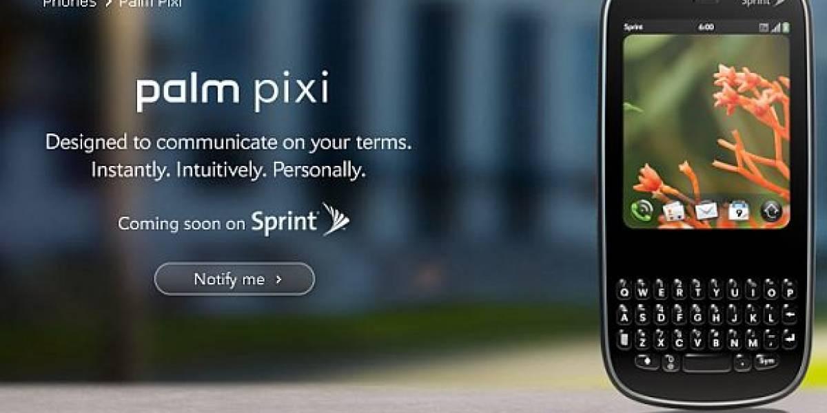 Palm lanza Pixi, su segundo móvil WebOS