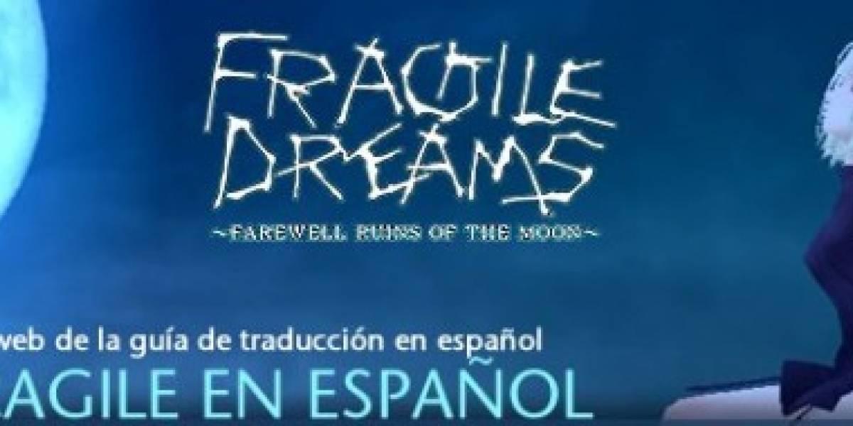 Fragile traducido al español por los usuarios