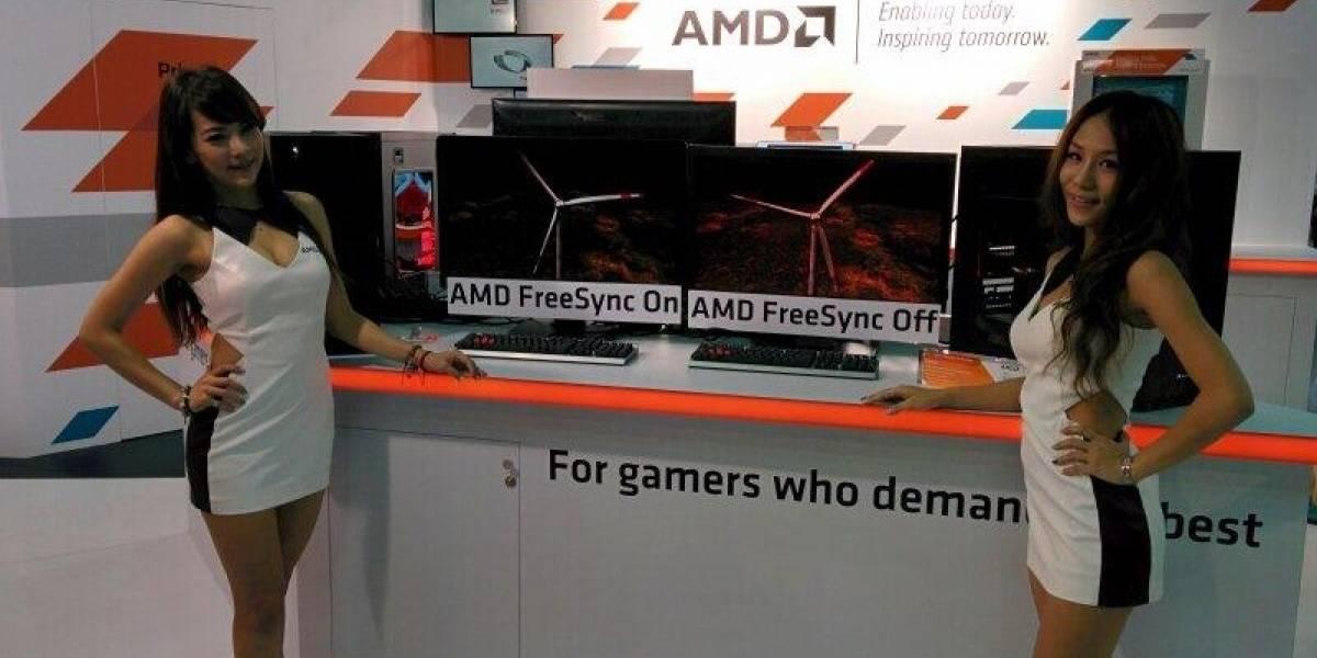 AMD muestra FreeSync en un monitor DisplayPort 1.2 hackeado