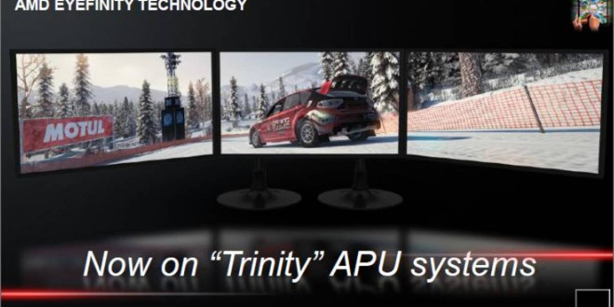AMD brinda algunos datos del rendimiento de sus APU Trinity y Kavery