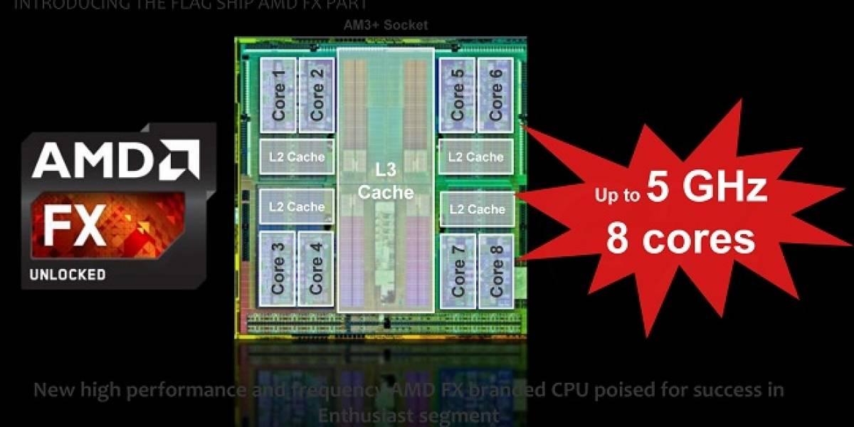 """Así rendirá el nuevo microprocesador AMD FX-9590 """"Vishera"""""""