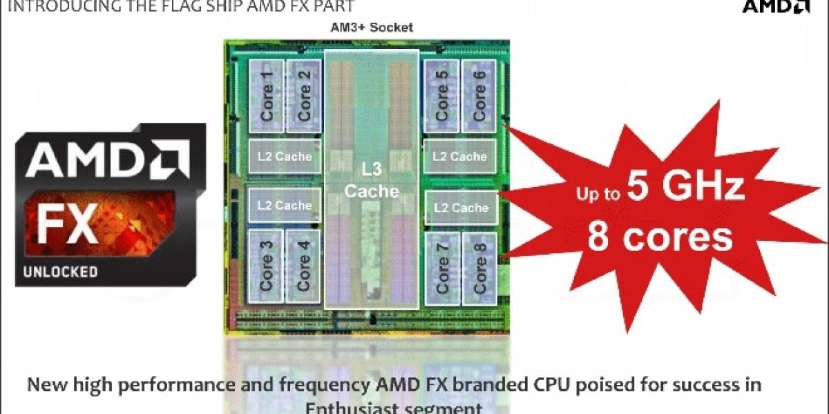 """AMD confirma las especificaciones de sus CPUs FX-9000 Series """"Vishera"""""""