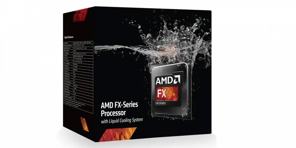AMD lanza sus CPUs FX-9590 y FX-9370 con refrigeración líquida