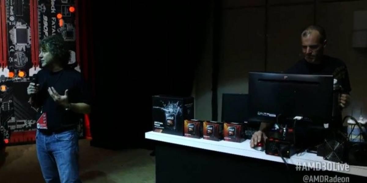 """AMD anuncia sus microprocesadores FX de segunda generación V2 Series """"Vishera"""""""