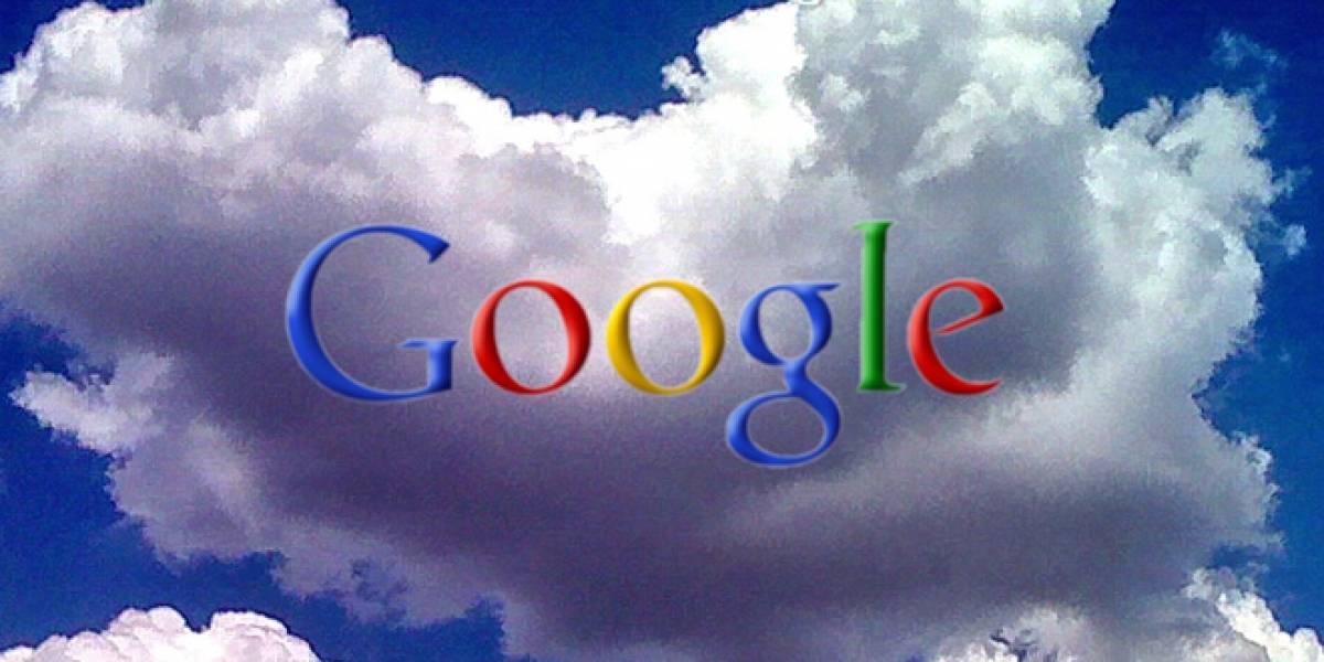 Google abriría un servicio de almacenamiento en la nube