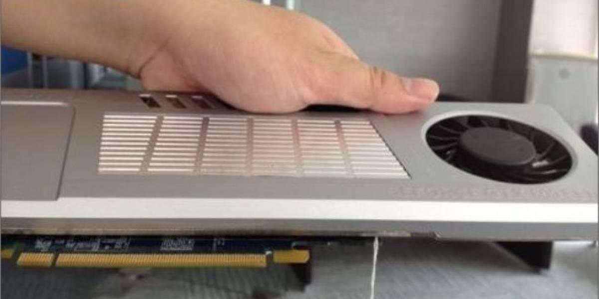 Imágenes de la tarjeta de video mono-ranura Galaxy GTX 680 Katana