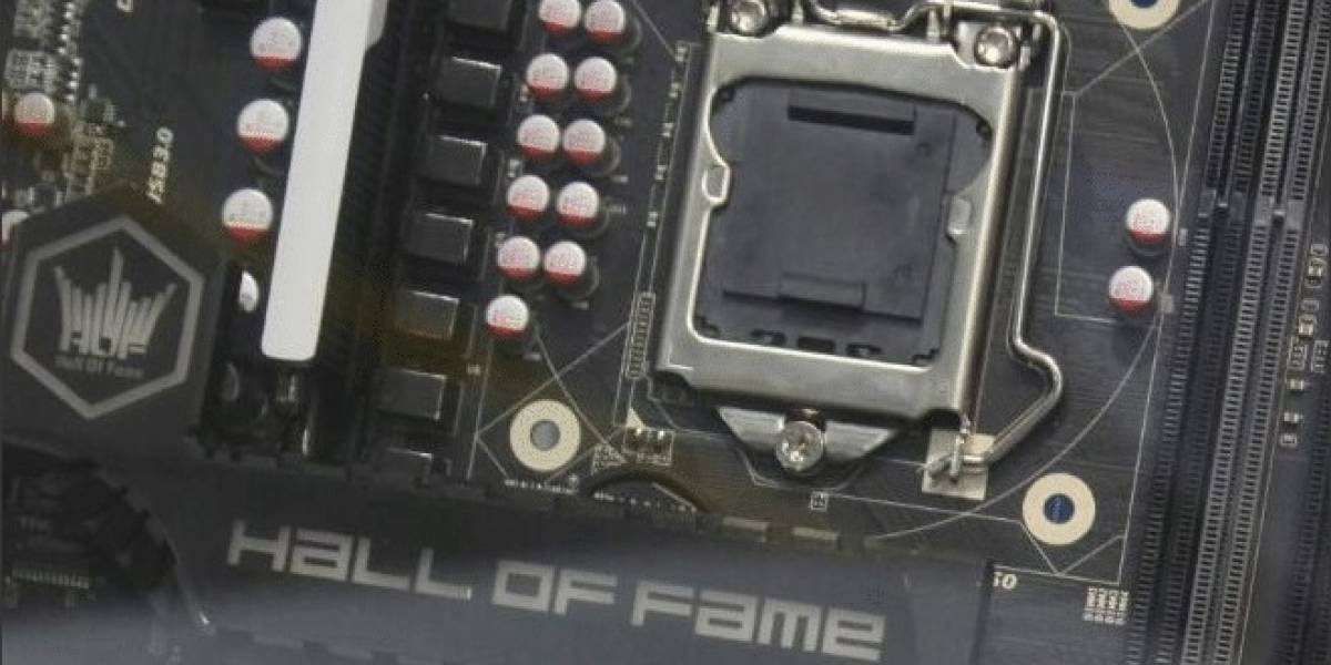 "Galaxy muestra su tarjeta madre Z87 Hall Of Fame ""HOF"" #CTX2013"