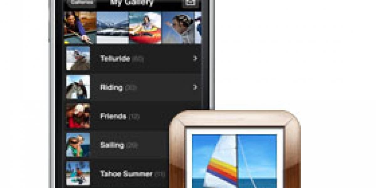 MobileMe Gallery: Aplicación lanzada por Apple, y para el iPhone