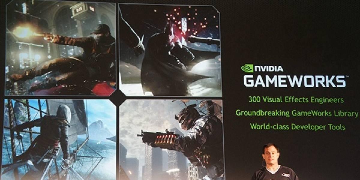 AMD: GameWorks penaliza el rendimiento de los GPUs Radeon
