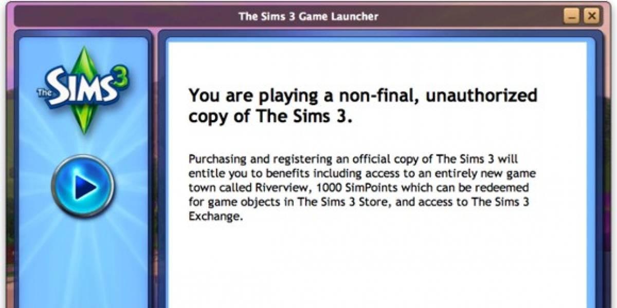Filtración de Los Sims 3 fue en realidad un Demo (según EA)