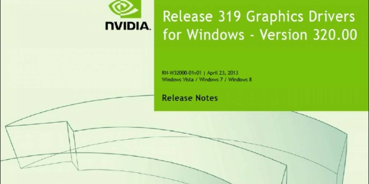 NVIDIA lanza sus controladores GeForce 320.00 Beta