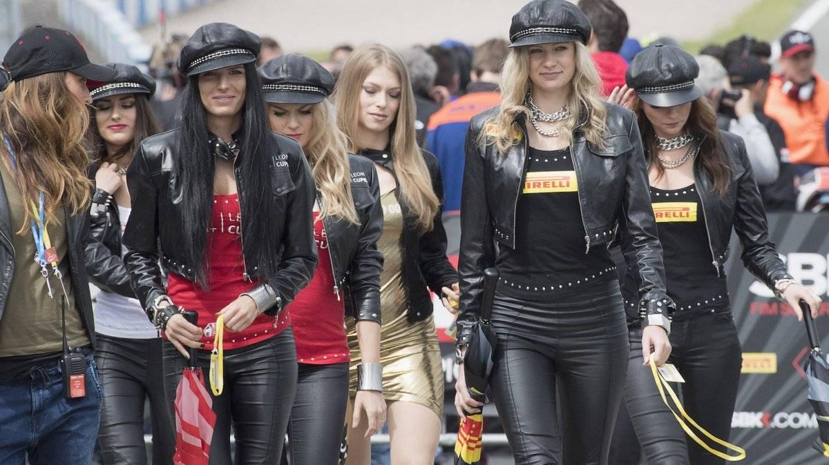 Las jóvenes ya no serán parte del espectáculo de los eventos automovilísticos |GETTY IMAGES