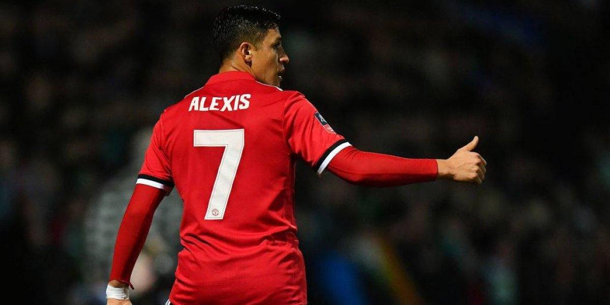Alexis Sánchez ya tiene todo listo para jugar la Champions con el United
