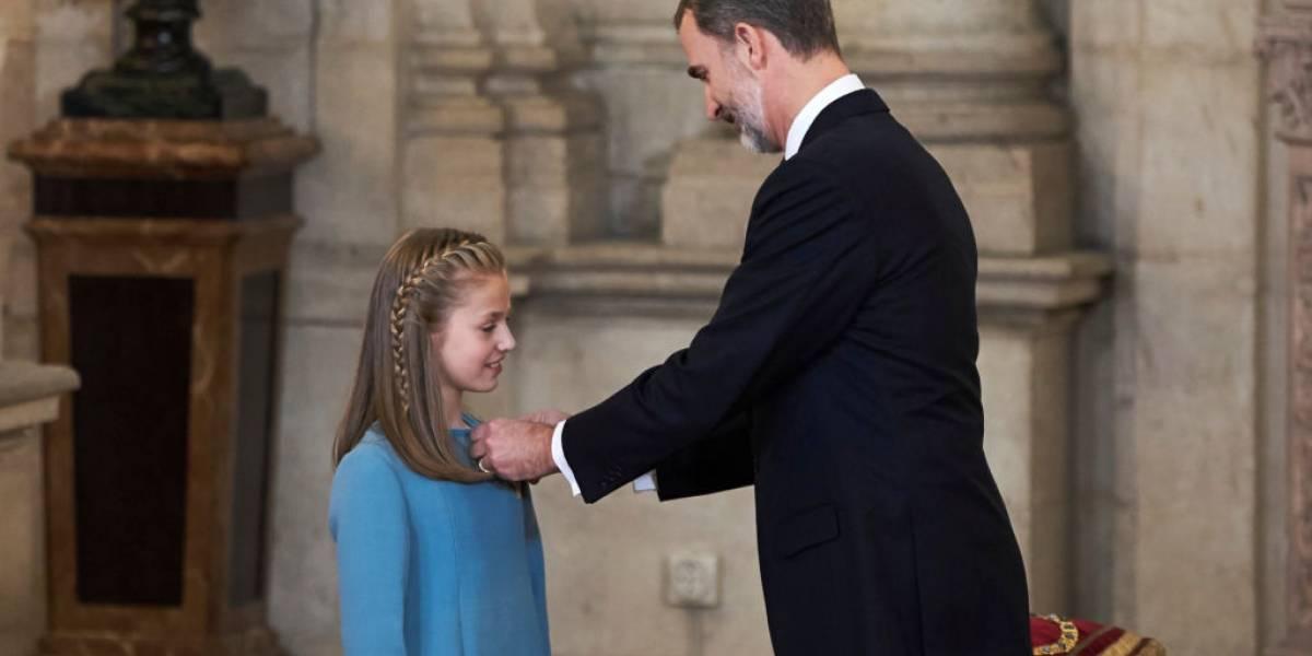 As fotos mais fofas da princesa Leonor, herdeira do trono da Espanha aos 12 anos