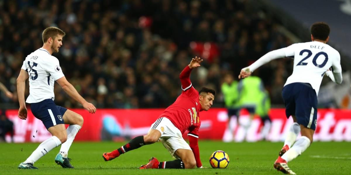 """Mourinho destacó la actuación de Alexis en Wembley: """"Lo dio todo y me deja una buena sensación"""""""