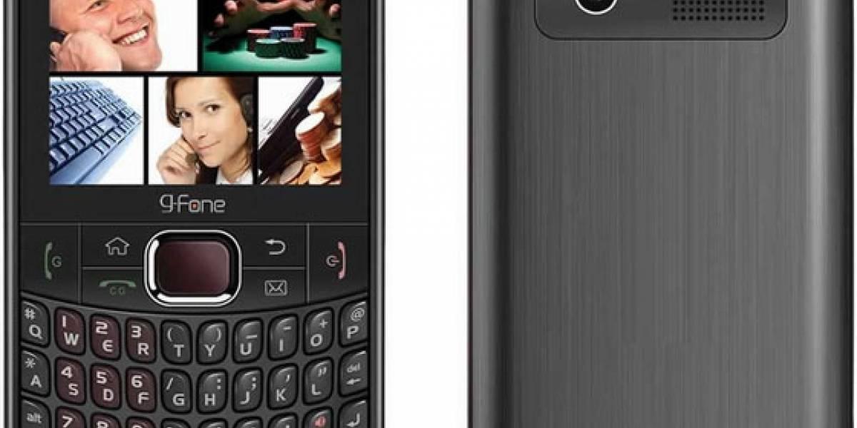 G-Fone G588: El retrato de una BlackBerry dual SIM