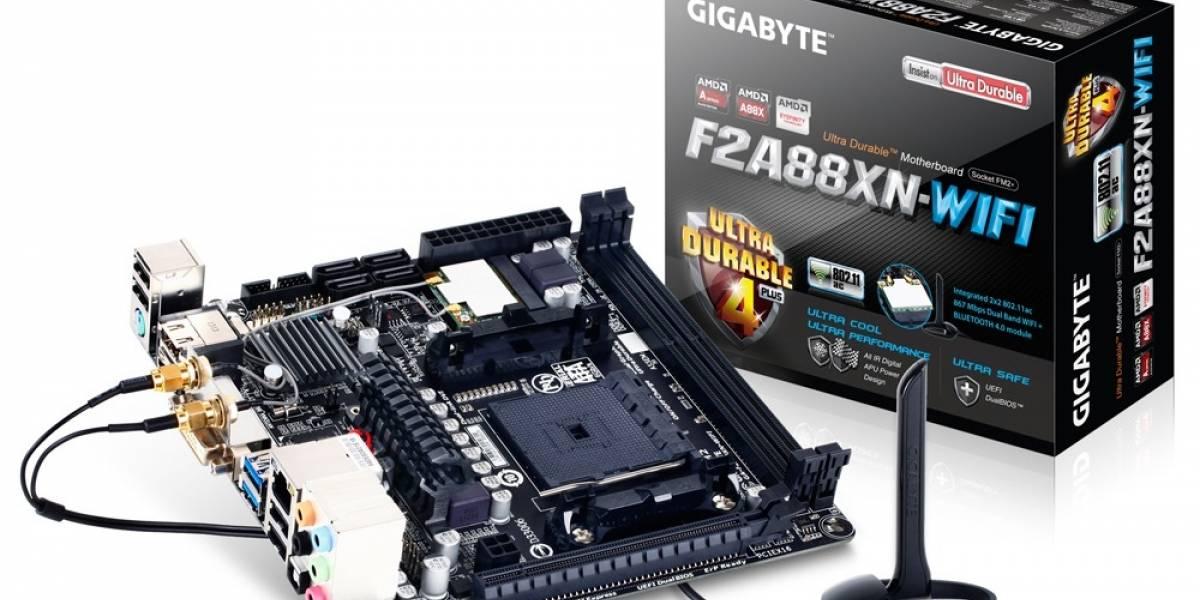 Gigabyte anuncia su tarjeta madre Mini-ITX GA-F2A88XN-WIFI