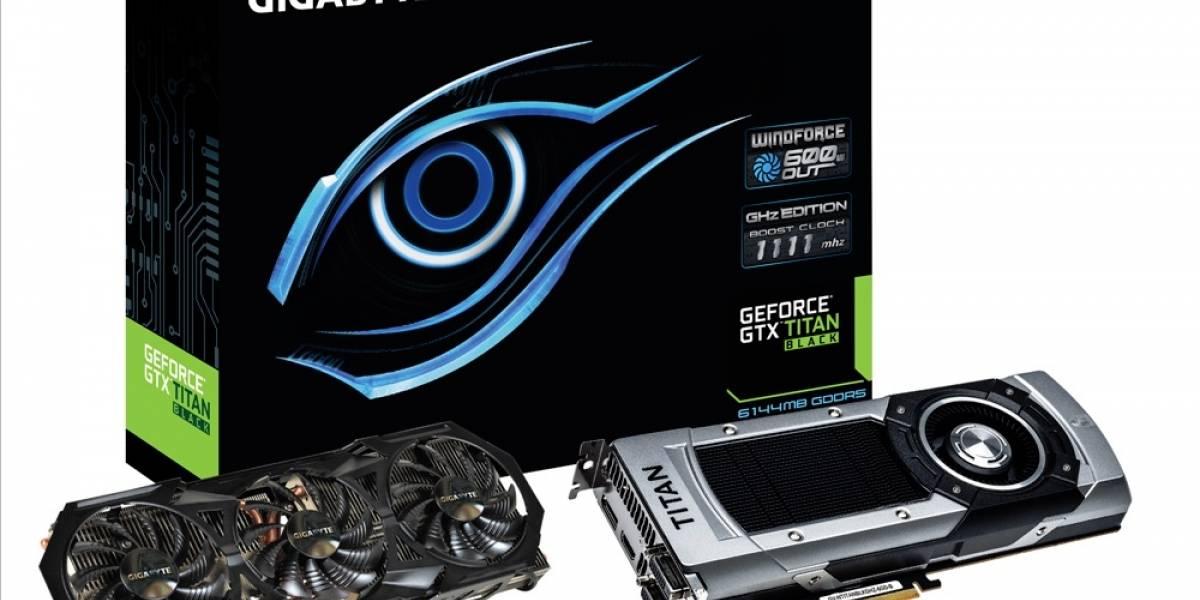 Gigabyte lanza su tarjeta gráfica GeForce GTX Titan Black WindForce 3X 600W