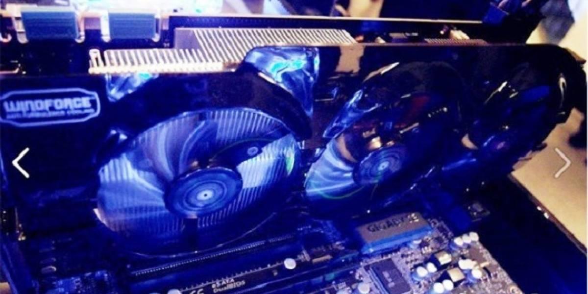 Gigabyte equipa la GeForce Titan con un cooler Windforce 3X