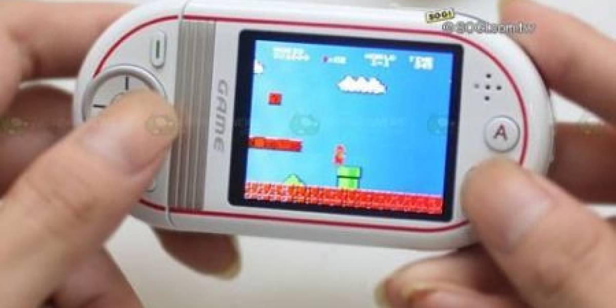 Gionee S20: Celular con emulador de NES