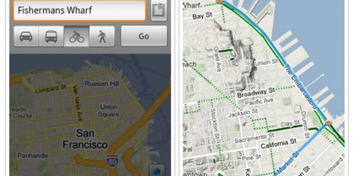 Nuevas mejoras para Google Maps para Android