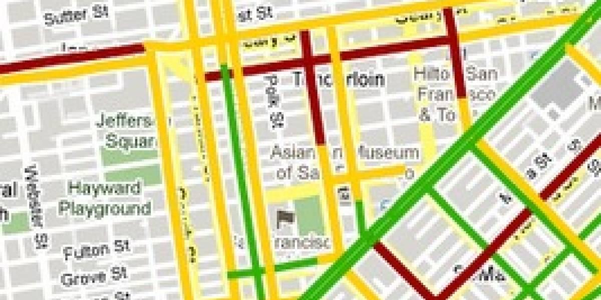 Google Maps te informará en tiempo real sobre el estado del tráfico