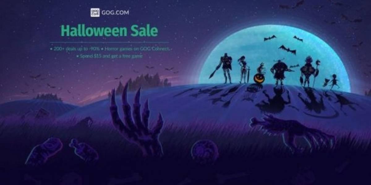 GOG también tiene venta especial de Halloween