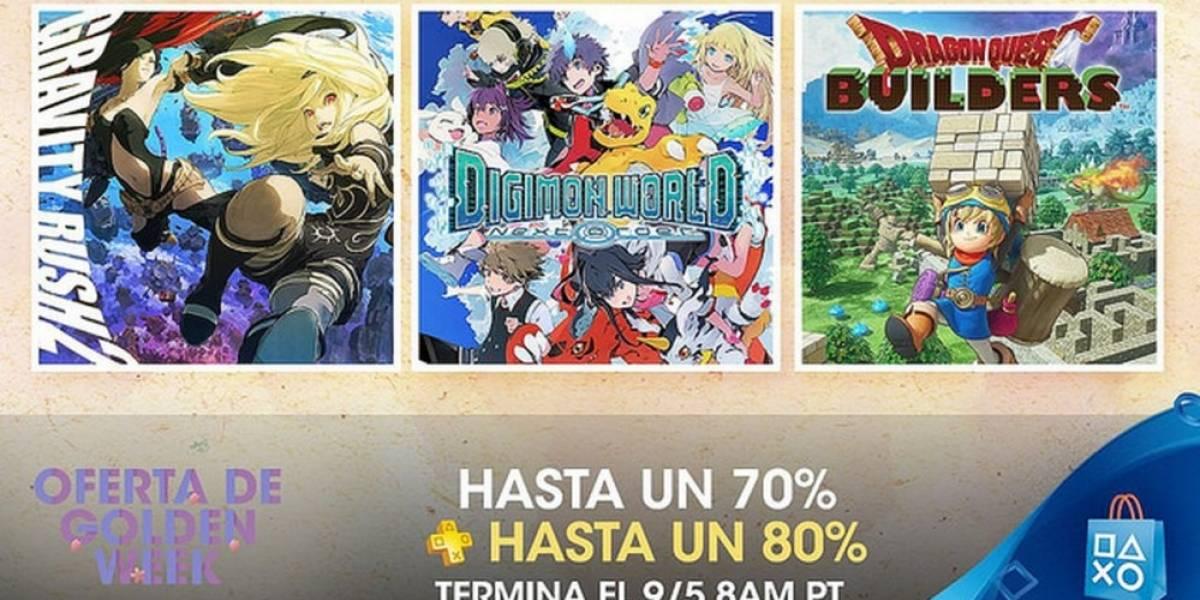 PlayStation Store tiene la venta especial Golden Week