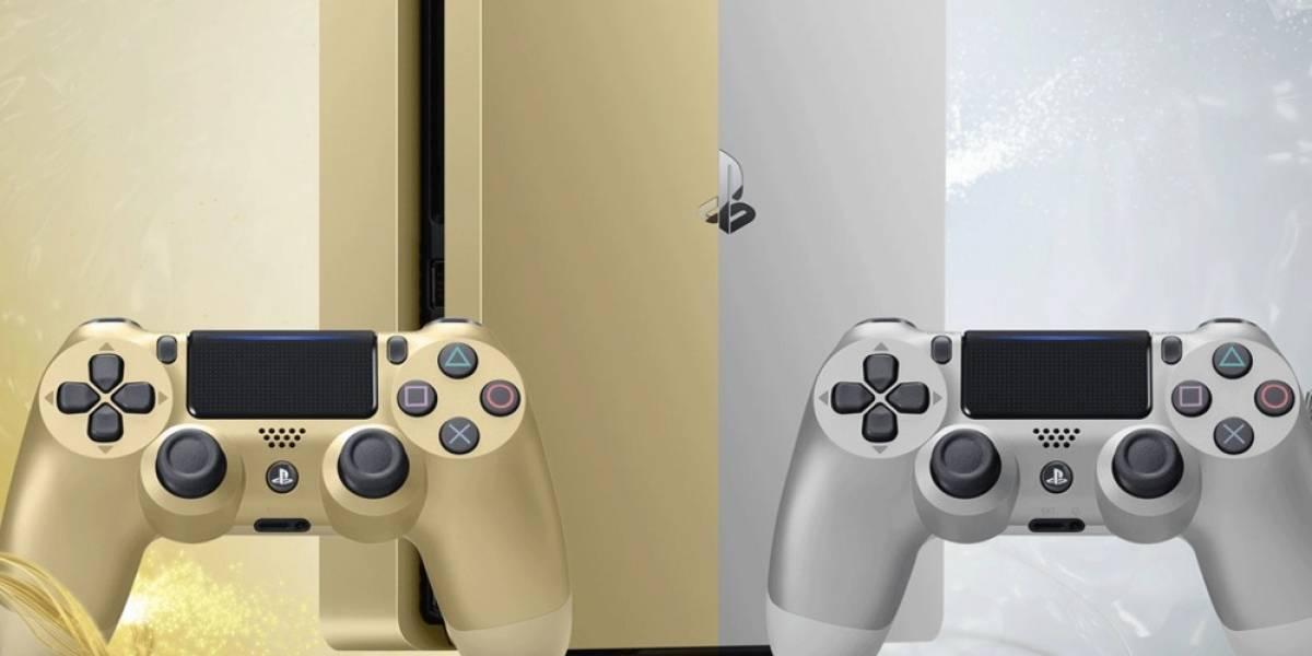 Sony anuncia oficialmente la PS4 Slim Gold y Silver
