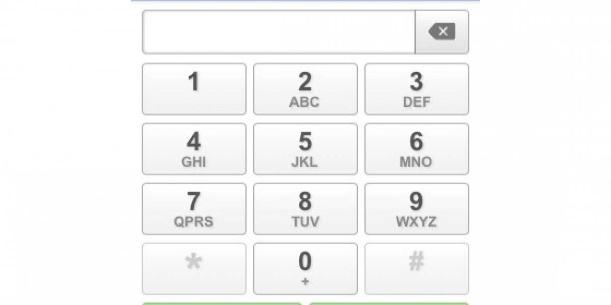 Google Voice en HTML5 para el iPhone