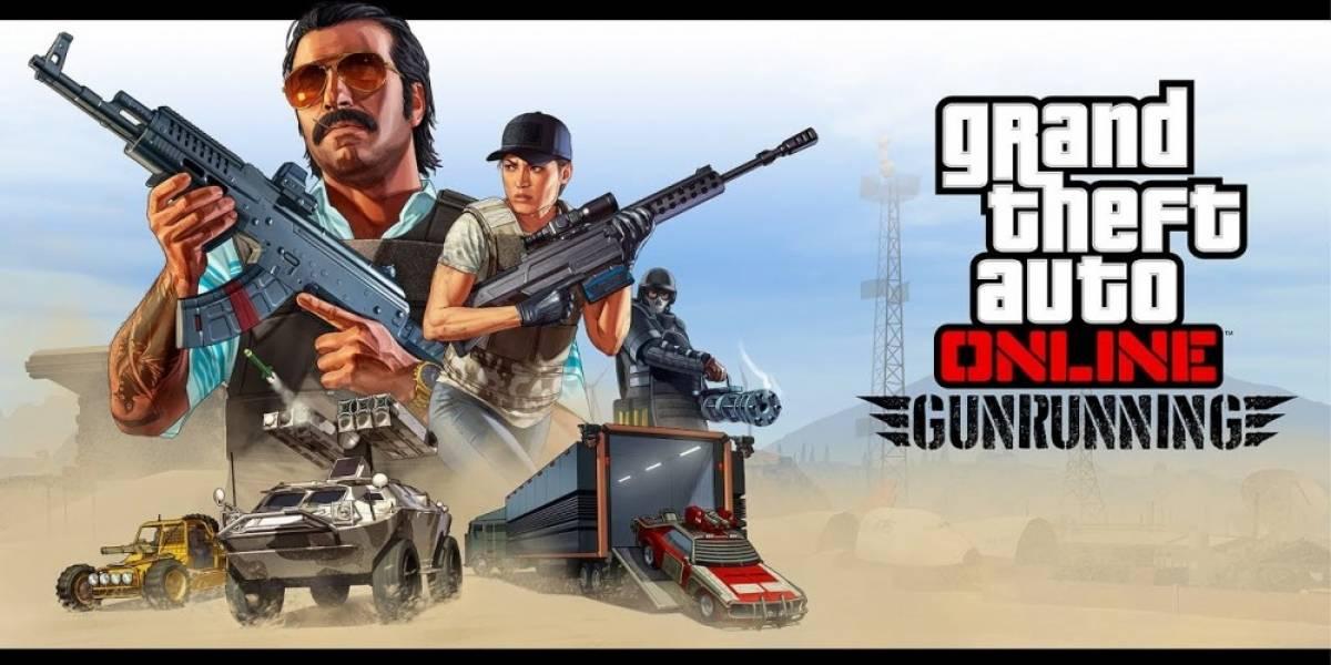 El Tráfico de Armas llegará la próxima semana a GTA Online