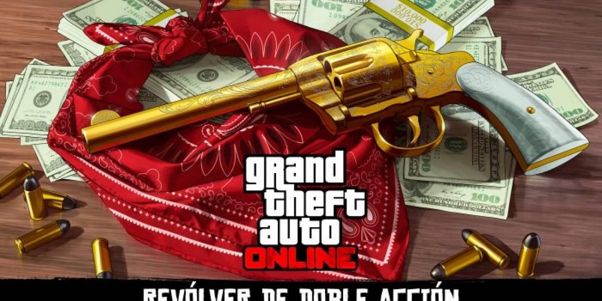Arma de Red Dead Redemption 2 llega a GTA Online