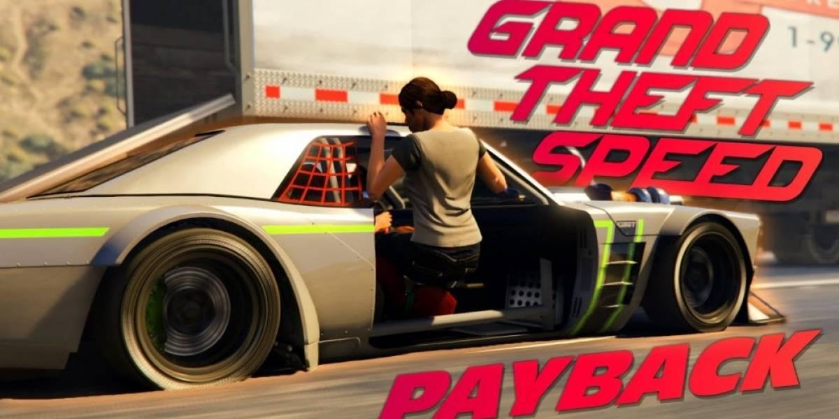 Recrean el tráiler de Need for Speed: Payback en GTA V