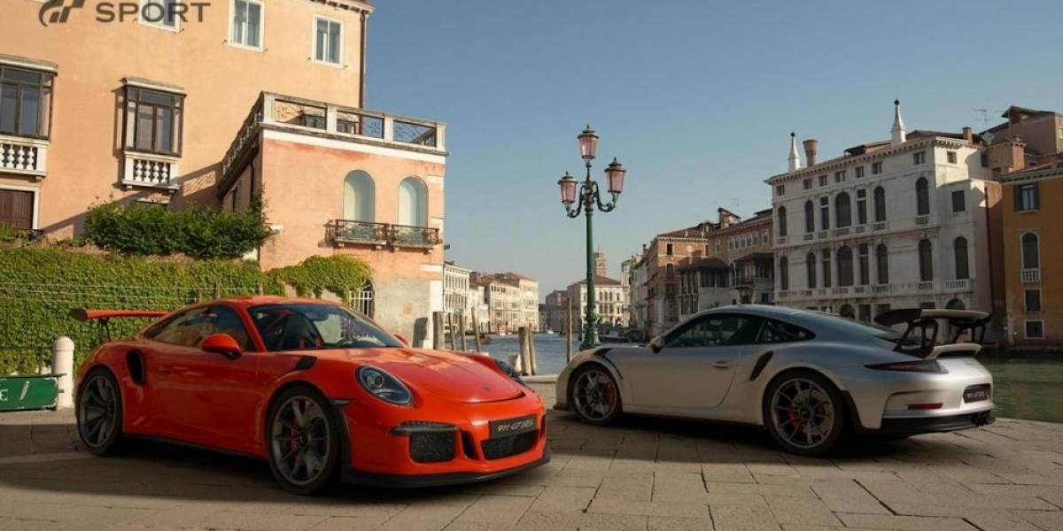 Gran Turismo Sport estrena tráiler 4K con el debut de Porsche