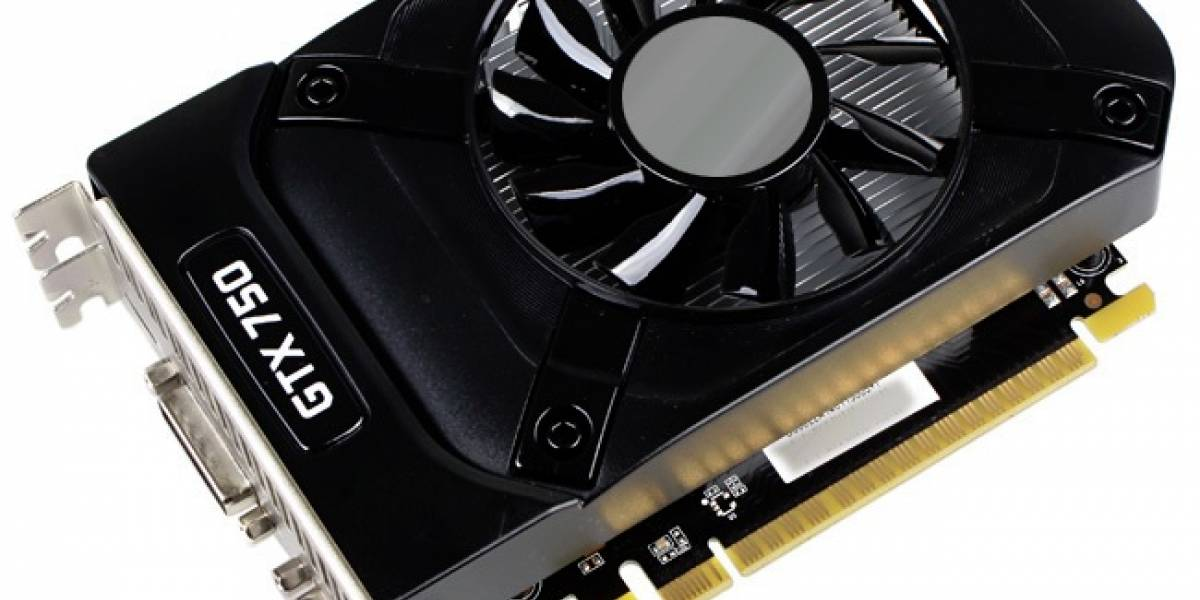 "Tarjeta de video de referencia basada en GeForce GTX 750 ""GM107"""