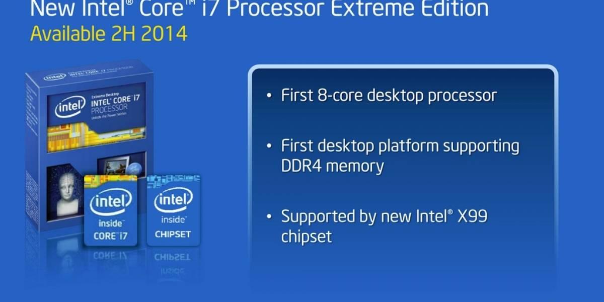 """Especificaciones de los CPU Intel Core HEDT de cuarta generación """"Haswell-E"""""""