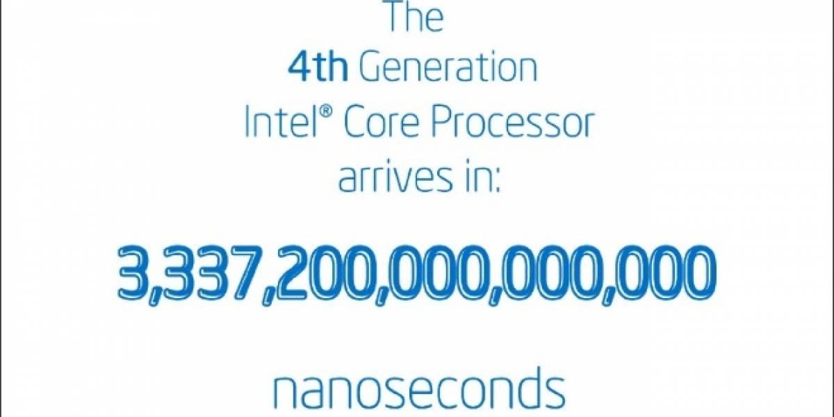 """CPUs Intel Core de cuarta generación """"Haswell"""" llegan oficialmente este cuatro de junio"""