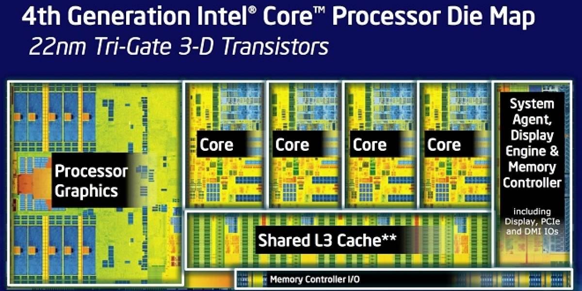 """Los nuevos microprocesadores Intel Core de cuarta generación """"Haswell"""""""