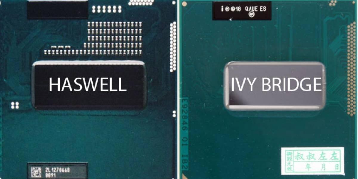 """Se filtran los precios de los CPUs Intel Core i7/i5-4000 Series """"Haswell"""""""