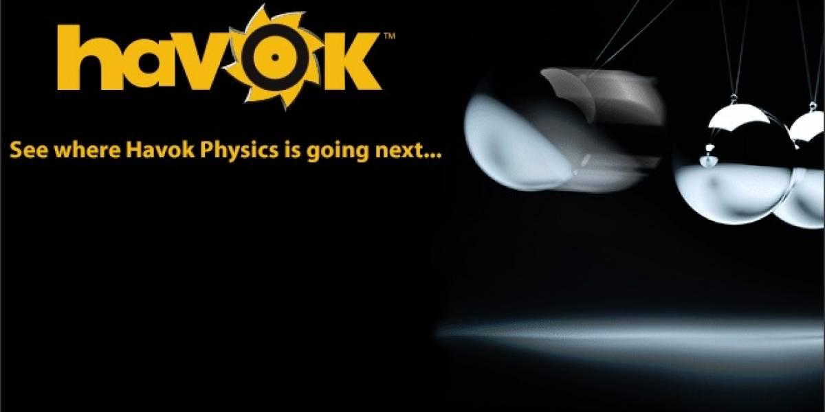 Intel anuncia considerables mejoras para su nueva versión de Havok Physics