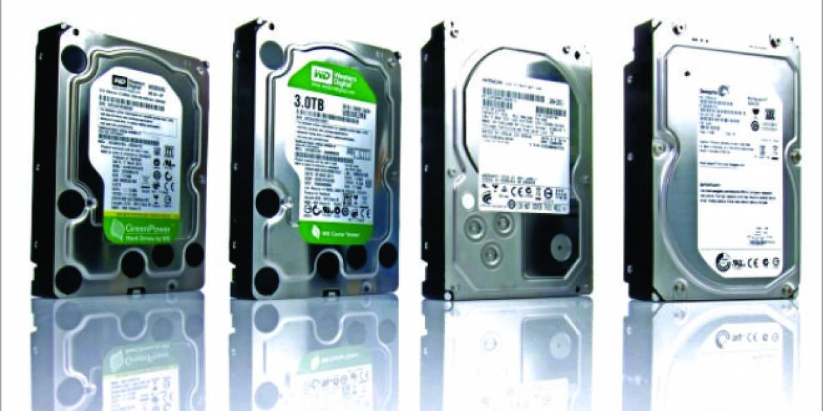 La industria de los discos duros se recupera al 80%