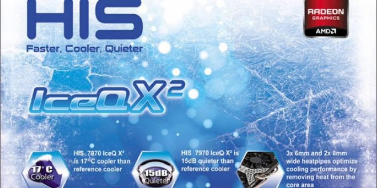 HIS lanza nuevas tarjetas de video Radeon HD 7900 y 7800 Series