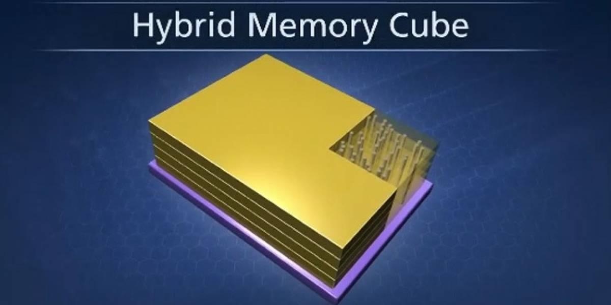 Hybrid Cube Memory ofrecerá 15 veces el ancho de banda de la DRAM